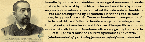 Tourette syndrome adult